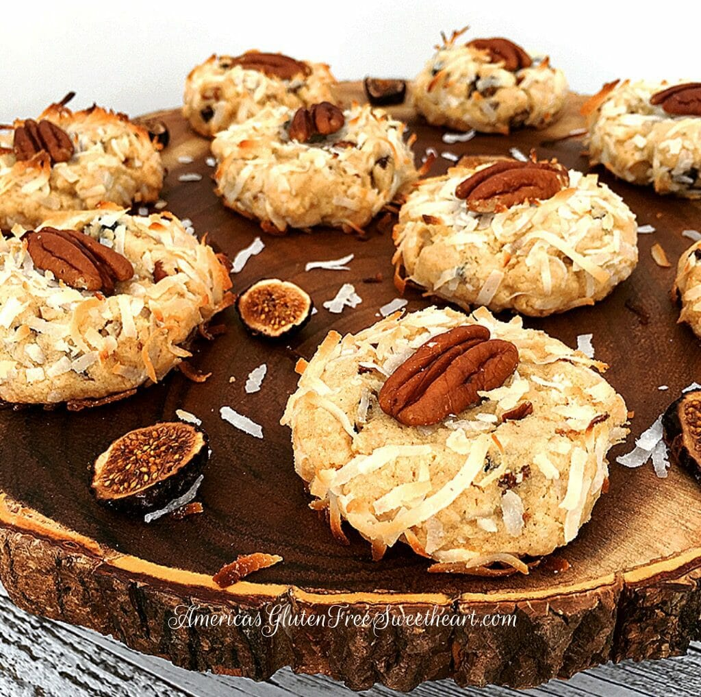 Toasted Coconut Pecan Fig Cookie's