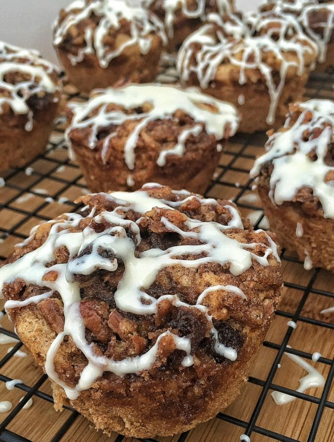 Cinnamon Raisin Roll Muffins