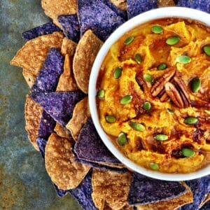 Pumpkin Maple Hummus
