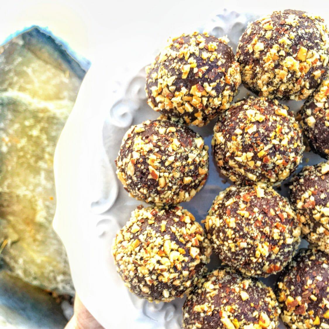 Double Chocolate Brownie Flax Bites