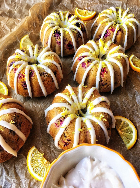 Gluten Free Mini Bundt Cakes