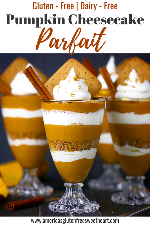 Gluten Free Pumpkin Cheesecake Parfait