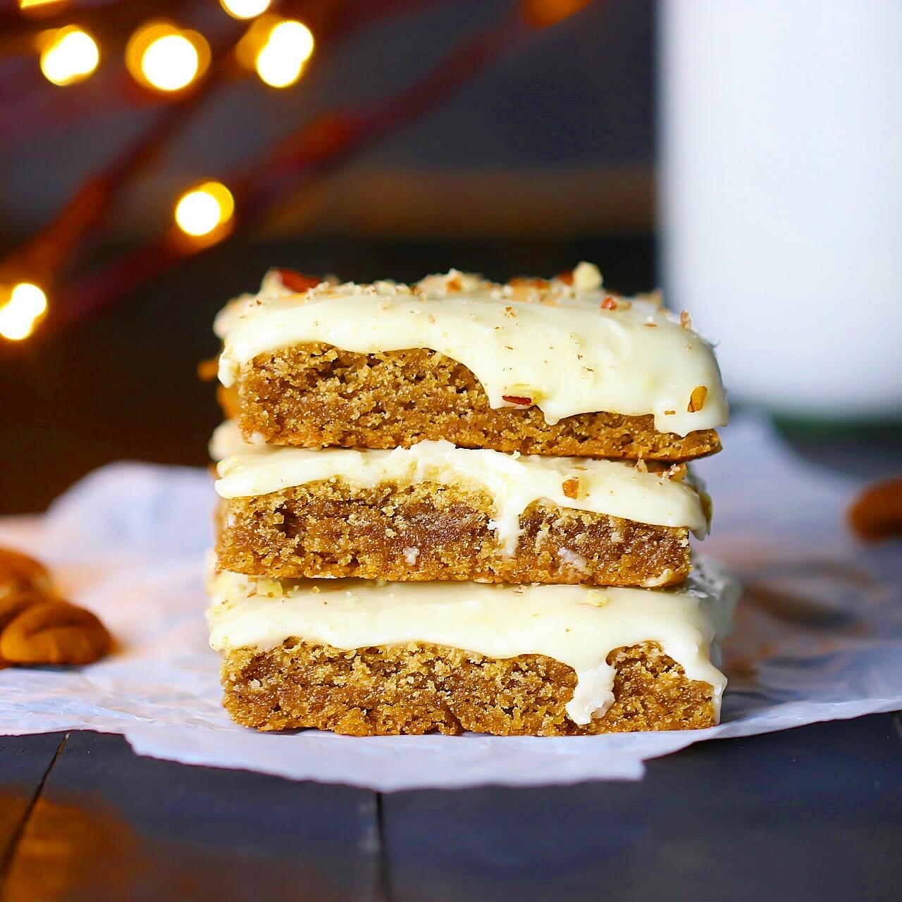 Gluten - Free Cinnamon Spice Bars