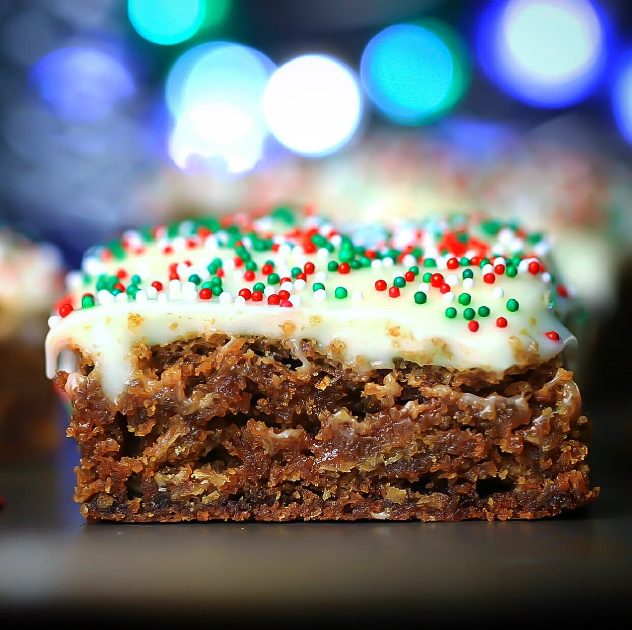 Gingerbread Spice Bars