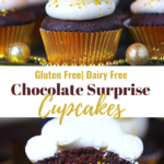 Chocolate Surprise Filled Cupcakes