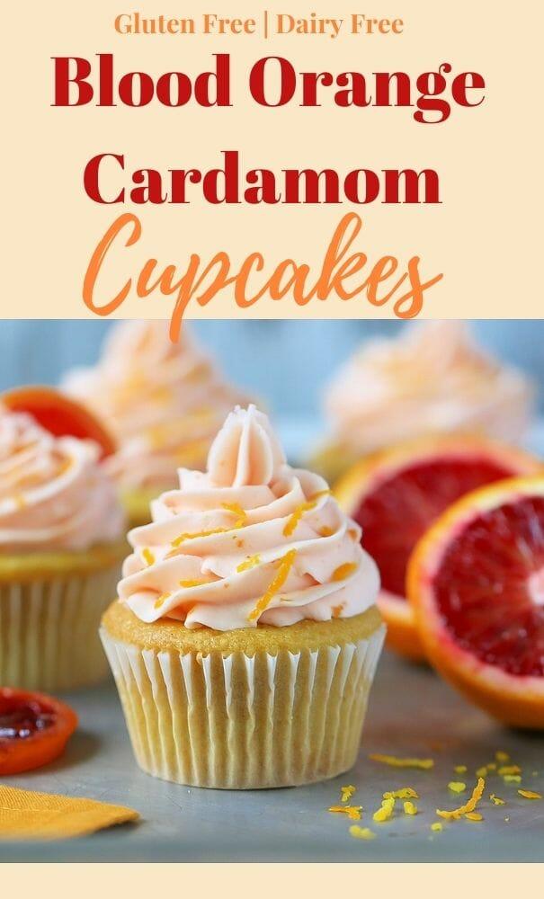 Blood Orange Cupcakes with Blood Orange Frosting