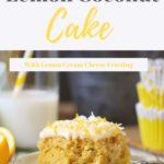 Lemon Coconut Sheet Cake