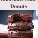 gluten free chocolate cake donuts