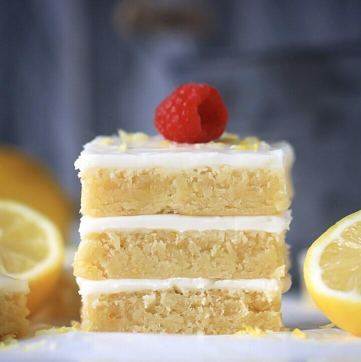 Lemony Brownies