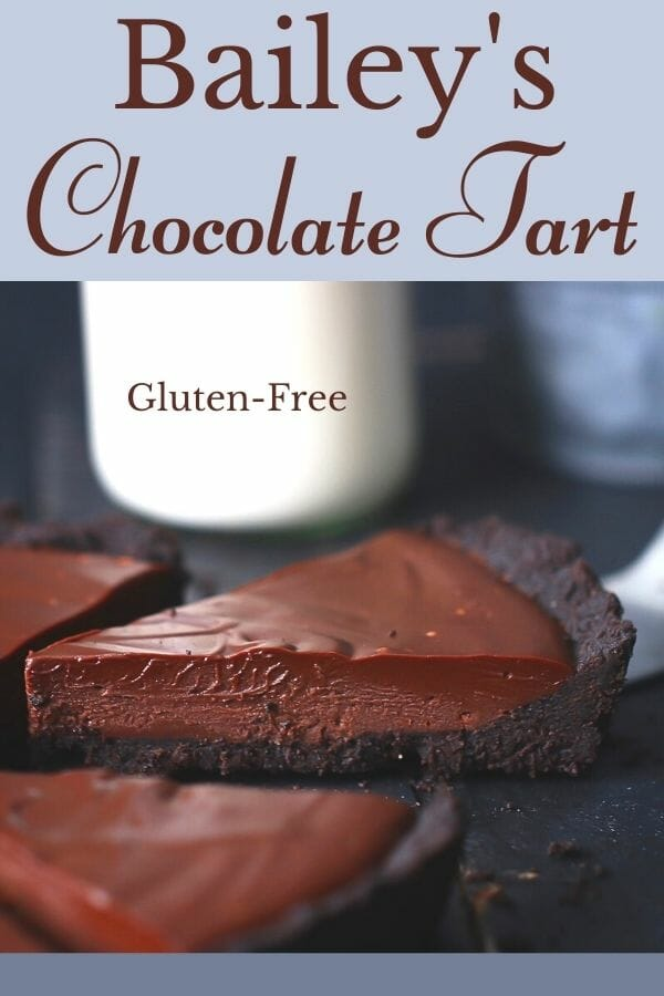 baileys chocolate tart
