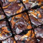 Fudgy Pumpkin Brownies
