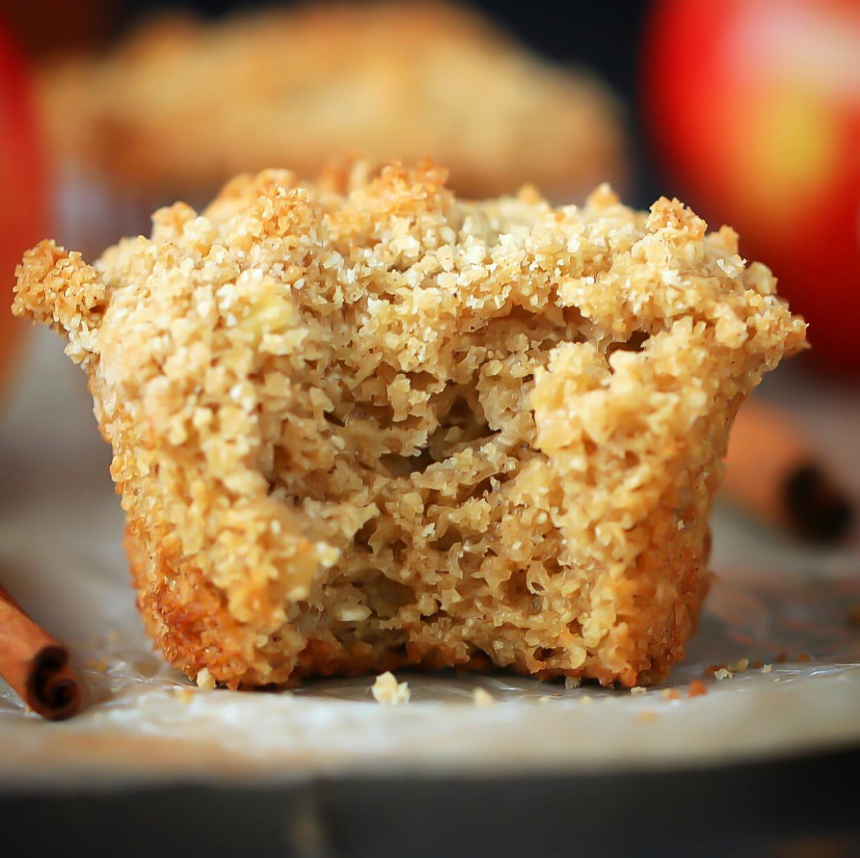 grain free apple muffins