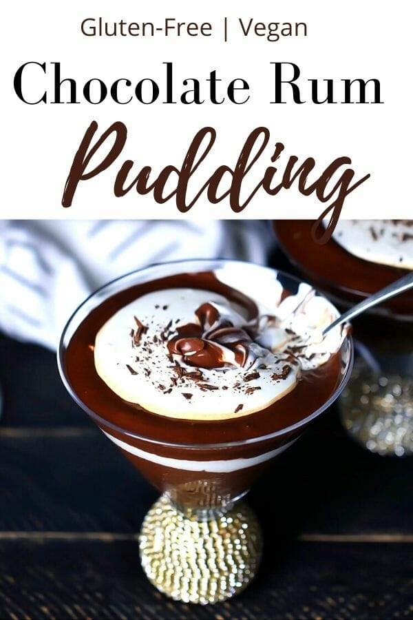 gluten free chocolate pudding
