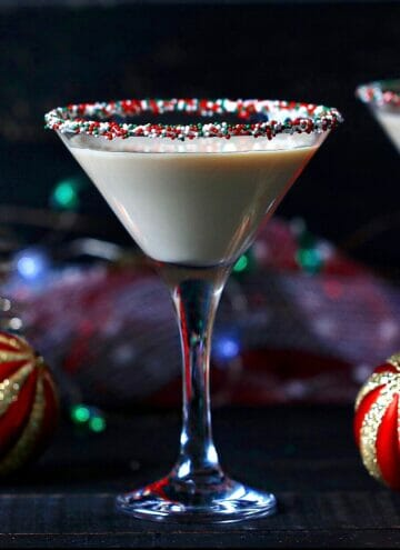 Sugar Cookie Dessert Martini
