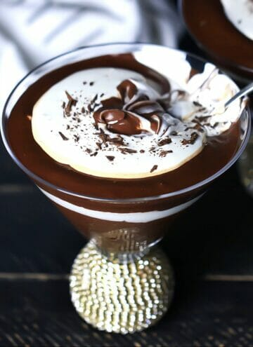 gluten free chocolate pudding
