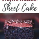 Chocolate Sheet Cake with Dairy Free Chocolate Frosting