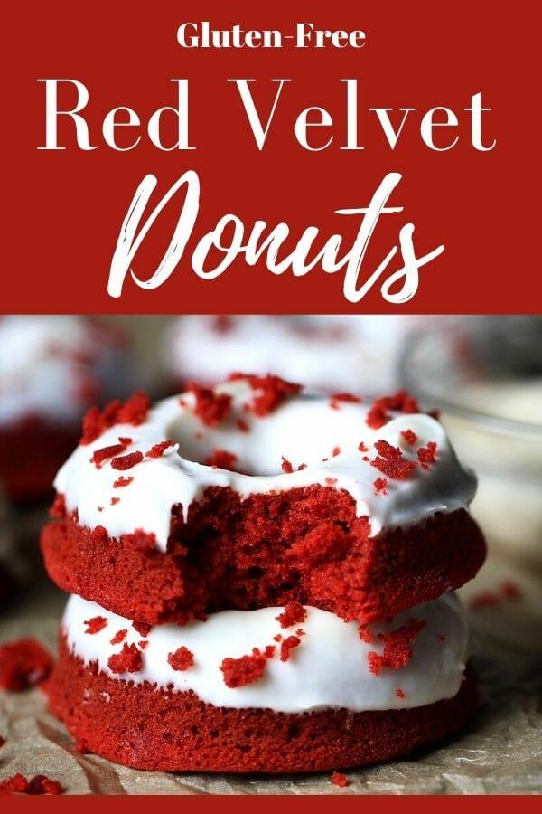 gluten free red velvet donuts