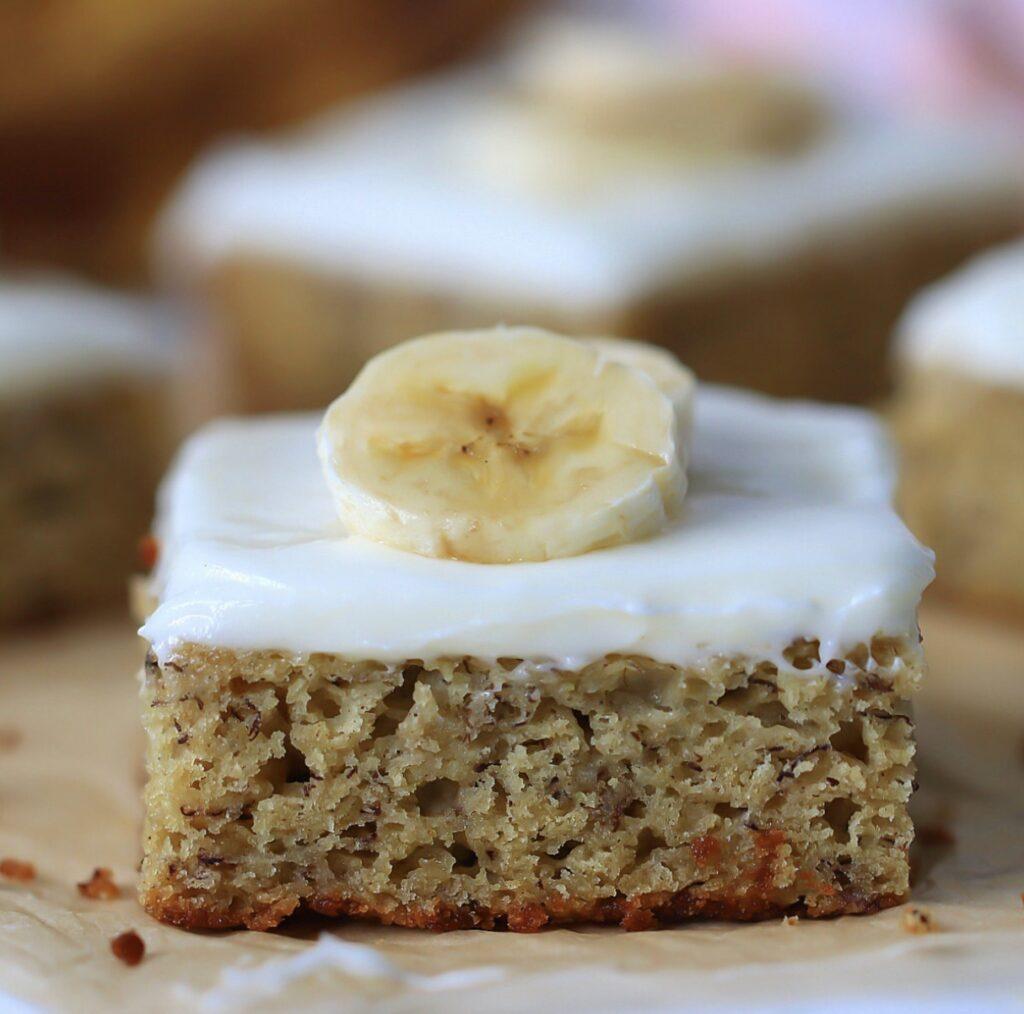 dairy free banana cake