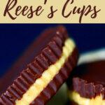 vegan chocolate peanut butter cups