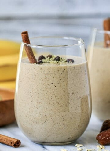 banana and date smoothie