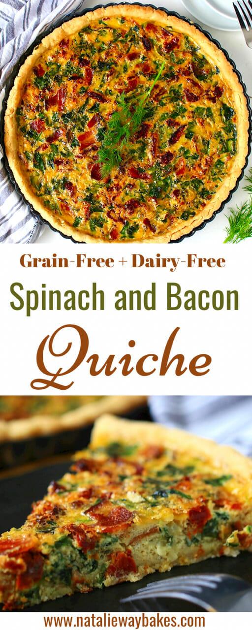 dairy free quiche