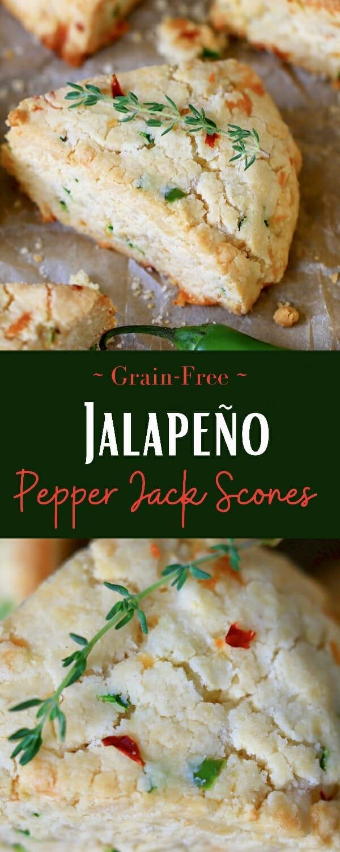 Jalapeno Pepper Jack Scones